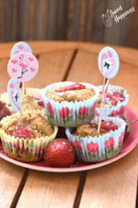 Muffinki kokosowo-truskawkowe